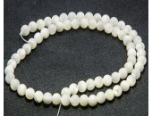 Mother of Pearl 40 cm collier 4 mm