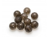 Smoky Quartz, 10-pack, facetterad, 12mm